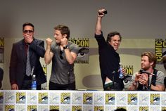 Winner: The cast of The Avengers: Age of Ultron | The Biggest Winners And Losers Of Comic-Con 2014