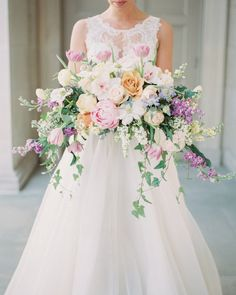pretty bouquet  pastel shades | by stacey bauer