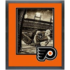 Bernie Parent Philadelphia Flyers x Matted Framed Player Photo Bernie Parent, Philadelphia Flyers, Nhl, Hockey, Parenting, Frame, Fitness, Sports, Picture Frame