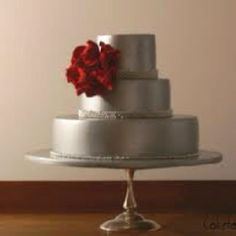 Silver cake (-red)