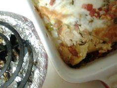 Enchanted sour creme Chicken enchiladas picture 3 YUM