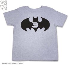 birthday boy super hero shirt