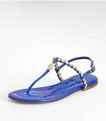 AINE THONG from @Tory Burch -- could be SO cute and perfect for #LSU #gameday and only $157.50