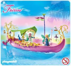 Playmobil Fairy Boat 5445 at Bunyip Toys