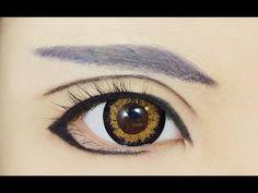 Tutorial : Anime Eye Makeup 62 • Sinbad - YouTube