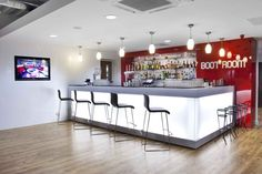 Our Liverpool Football Club project: The Boot Room bar