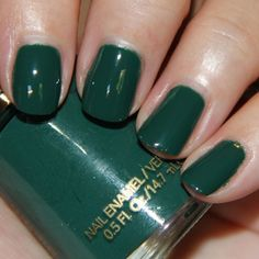 Just bought this colour too! Jaded night, onsale 2 Revlon nail polish's for . - Most beautiful Nail models Revlon Nail Polish, Green Nail Polish, Shellac Nails, Nail Polishes, Opi Nail Colors, Pretty Nail Colors, Revlon Nagellack, Nail Polish Collection, Gel Nail Art