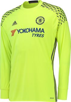 c2db3f1792 The new Chelsea goalkeeper kit introduces a garish design in yellow and  grey