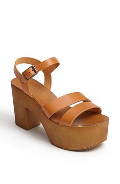 Platform please! Topshop Platform Sandal