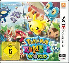 Pokémon Rumble World Games Nintendo 3DS Strategie