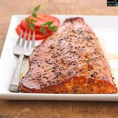 Maple-smoked Salmon Fillets-- This was absolutely amazing. Nice and moist. Our new favorite way to have salmon on the grill. Made 5-4-14