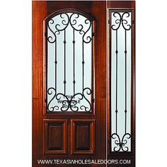 Rustic entry doors and Interior wood doors with glass at the