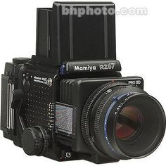 Mamiya RZ67 Professional Pro II D Value Pack Medium Format SLR Camera Kit with 110mm f/2.8 Lens, Folding Waist Level Finder and 120 Film Back