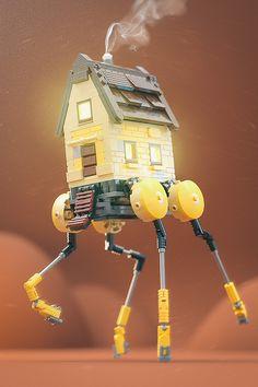 Home Appliances Galore from CyberTechWorld - blender #frypan #microwave #blender #electricknife #verticalgrill