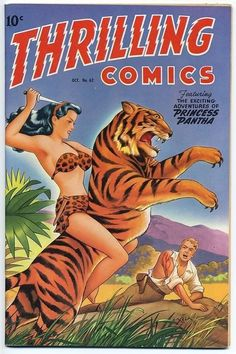 Jungle Girls! Comic Book Cover Art - 24 Trading Card Set - NEW! FREE Shipping