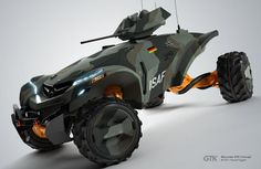 メルセデスGTK(Mercedes GTK)。ドイツに住んでいるPascal Eggertなるアーティストがインターネット上に発表したコンセプト車両。具体的な設定は不明だが機関銃やセンサーポッドを搭載したドローンのようにも思える。