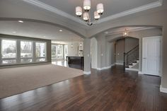 I love everything about this. Color of the walls, wood floor, the open concept. Just perfect!