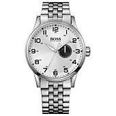 Hugo+Boss+Watch,+Men's+Stainless+Steel+Bracelet+44mm+1512791. Me like