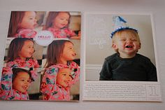 Great photo book layout: maybe the inspiration for my 2014 digital scrapbook Daily Day, December Daily, Scrapbooking Layouts, Digital Scrapbooking, Book Layouts, Family Yearbook, Yearbook Ideas, Wedding Scrapbook, Memory Books