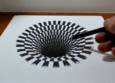 Designer shows how an astoundingly realistic 3D drawing of a black hole is made http://ow.ly/HkjH7