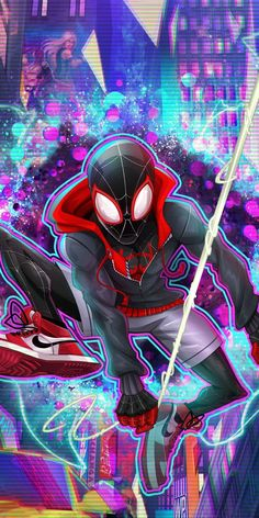 Miles Morales - Ultimate Spider-Man, Into the Spider-Verse Marvel Avengers, Marvel Comics Art, Marvel Memes, Marvel Fan Art, Ms Marvel, Captain Marvel, Ultimate Spider Man, Ultimate Marvel, Spiderman Art