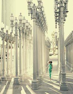 """Esto Es Hollywood"" : Karlie Kloss : Vogue España February 2013 : Alexi Lubomirski | Fashion Editorials | A Photographic Collection of Trending Fashion Magazine Editorials"