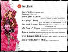 Ever After High - Briar Beauty's Full Bio v2 by cjlou-the-bejeweler.deviantart.com on @DeviantArt