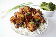 The Garden Grazer: Asian Garlic Tofu with Rice