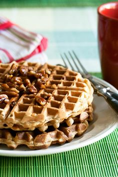 Waffles on Pinterest | Waffle Recipes, Waffles and Belgian Waffles