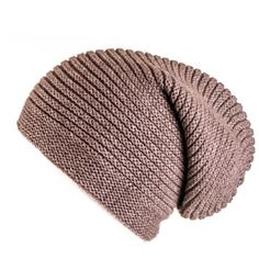 Tawny Brown Cashmere Slouch Beanie Hat ($99) ❤ liked on Polyvore featuring accessories, hats, beanies, headwear, gorros, brown beanie, beanie hats, long beanie, slouchy beanie hat and slouch beanie