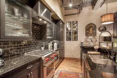 Gourmet Kitchen inside the Fabulous Kierland Commons Penthouse above MICHAEL KORS on Main Street | $1,595,000