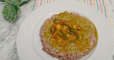 Trigo sarraceno con verduritas y tofu al curry