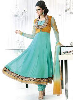 $106 Gorgeous Georgette Anarkali Suit