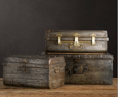 old suitcase makeover