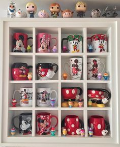 Disney Mug Display Kitchen
