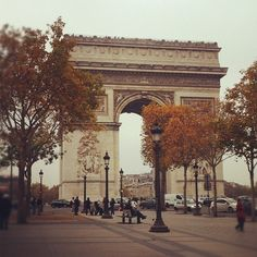 Champs Elysee – Paris, France (This was, and still is, my absolute favorite place in the entire world) Oh The Places You'll Go, Great Places, Places To Travel, Beautiful Places, Places To Visit, Dream Vacation Spots, Dream Vacations, Travel Around The World, Around The Worlds