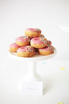 Donuts: http://www.stylemepretty.com/living/2015/03/23/25-party-foods-you-have-to-try-right-now/
