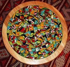 Mixed Lazy Susan by kristyskrafts1, via Flickr