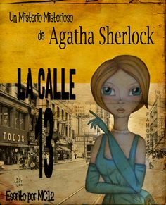 My Femme Fatale in a 50's style book cover