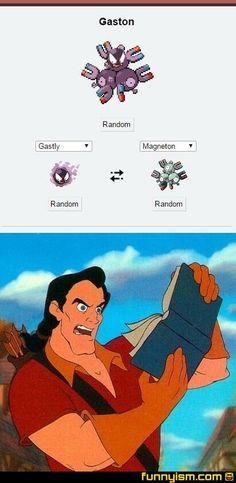 Gaston's pokemon