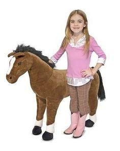 Caballo Pony De Peluche Niños Melissa & Doug Juguete - $ 2,175.00 en MercadoLibre