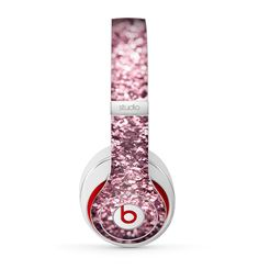 The Subtle Pink Glimmer Skin for the Beats by Dre Studio (2013+ Version) Headphones