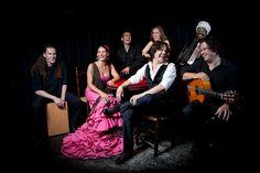 Grupo de Flamenco Algarabía. Gira  EE.UU. 2010. Foto: Juan Pelegrín