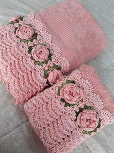 Crochet - Page 18 of 171 - Crochet and Knitting Patterns Crochet Towel, Crochet Lace Edging, Crochet Borders, Crochet Flower Patterns, Crochet Designs, Crochet Doilies, Crochet Flowers, Crochet Stitches, Knitting Patterns