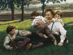 """""""Joseph Smith Playing"""" by Liz Lemon Swindle Lds Pictures, Pictures Of Christ, Church Pictures, Temple Pictures, Religious Paintings, Religious Art, Liz Lemon Swindle, Joseph Smith History, Image Jesus"""
