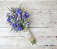 Image result for cornflower bouquet wedding