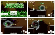 Jade Run screens by @uncledev #gamedev #indiedev http://uncledev.itch.io/jade-run