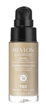 3 x Revlon Colorstay Pump Make Up Comb/Oily Skin - Natural Beige. Oil-free formula gives full coverage for up to 24 hours. Buildable to full coverage. Formula provides a light comfortable feel. Revlon Colorstay Foundation, Revlon Makeup, Nude Makeup, No Foundation Makeup, Liquid Foundation, Liquid Makeup, Natural Tan, Ivoire, Oily Skin