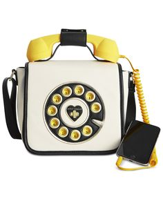 Betsey Johnson Phone Crossbody - Handbags & Accessories - Macy's