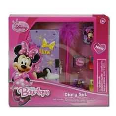 $8.10 Amazon.com: Minnie Mouse Bow-tique Diary Set: Toys & Games
